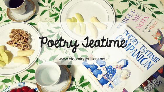 Celebrate language with Poetry Teatime