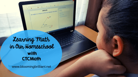 Using CTCMath a Multisensory approach to teach math in our homeschool.