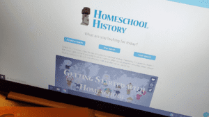 Blog Title Homeschool History without the Stress