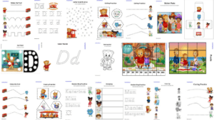 Blog Banner Daniel Tiger Learning Activity Pack
