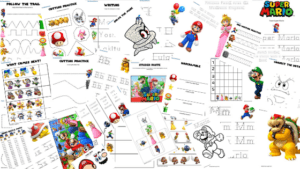 Blog Banner Super Mario Learning Activity