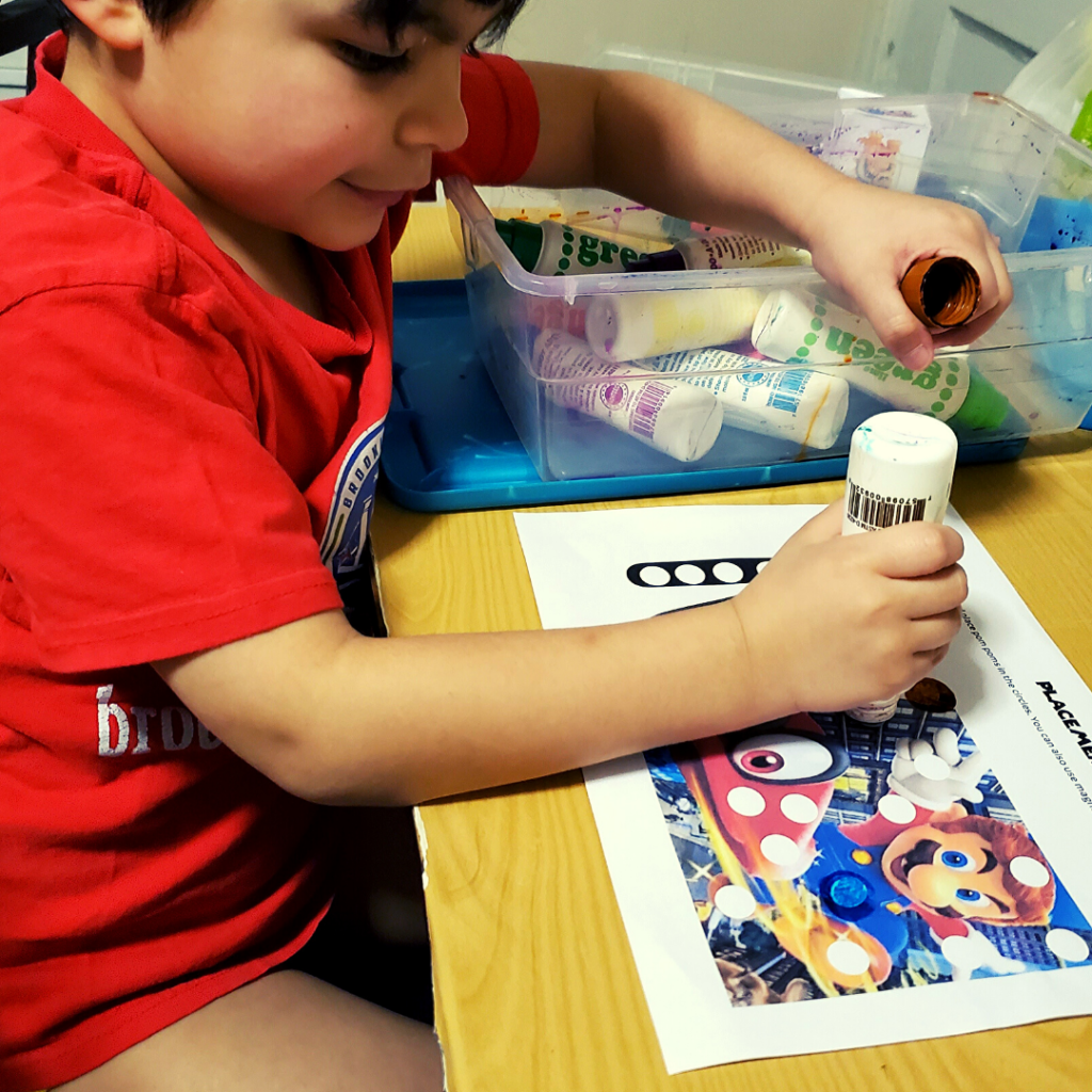 Super Mario Learning Activity In Action