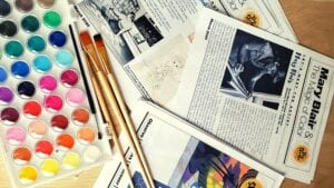 Blog Banner Adding Art History to Your Homeschool with Art History Kids