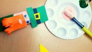 Blog Banner Leprechaun Craft